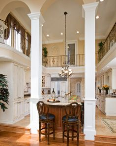 two story kitchen - traditional - kitchen - philadelphia - Renaissance Kitchen and Home