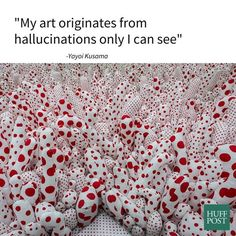 Happy Birthday Yayoi Kusama, One Of The Most Famous Living Artists Today