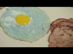 WATCH: Make green eggs and ham for breakfast using a surprising (natural) dye method.