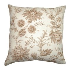 I pinned this Camella Pillow in Chocolate from the Sweet Sophistication event at Joss and Main!
