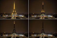 Earth Hour Paris, France