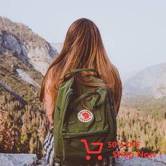 That peaceful view over Yosemite Valley Mochila Kanken, Kanken Backpack, Yoga Teacher Training Course, Bandana, Vsco, Backpacks, My Style, Cute, Bags