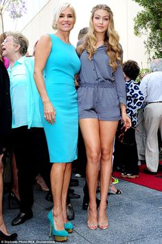 Following in her mother's model footsteps: The 51-year-old reality star had a booming mode...
