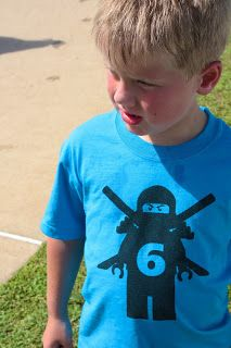 Ninjago Birthday Party t-shirt