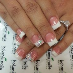 Alternative french nails