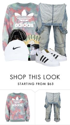 """""""Untitled #363"""" by mad11-1 ❤ liked on Polyvore featuring adidas and Crafted"""