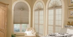 The Gorgeous Arched Window Treatments Ideas Window Treatment Ideas For Arched Windows Home Intuitive is one of the pictures that are related to the picture Arched Window Coverings, Arched Windows, Bay Windows, Half Moon Window, Palladian Window, Bay Window Curtains, Window Blinds, Bedroom Curtains, Honeycomb Shades