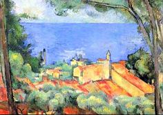 L'Estaque aux toits rouges par Paul CEZANNE (1839-1906)