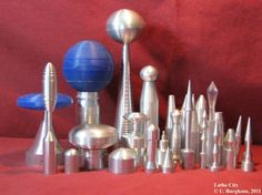 LatheCity who we are Metal Lathe Projects, Metal Projects, Projects To Try, Milling, Woodturning, Metalworking, Bowls, Gun, Miniatures