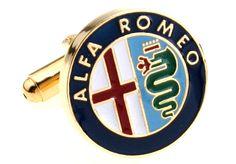 Cufflinks Alfa Romeo brand by Nuts & Noble