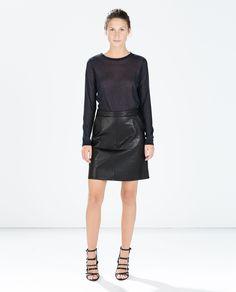 Image 1 of ROUND NECK SWEATER from Zara