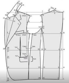 71 ideas deHombres patrones   patrones, patrones de ropa, patrones de costura Blazer Pattern, Suit Pattern, Collar Pattern, Jacket Pattern, Coat Patterns, Dress Sewing Patterns, Clothing Patterns, Tailoring Techniques, Sewing Techniques
