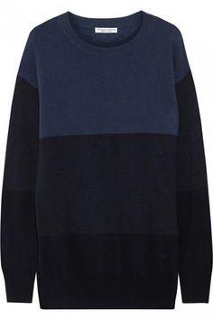 Current/Elliott + Charlotte Gainsbourg The Blocked Cashmere Sweater