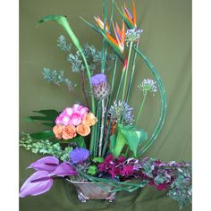 flower arranging styles | Home > Floral Arrangements > High Style >