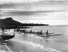 vintage hawaii beach photos - Google Search