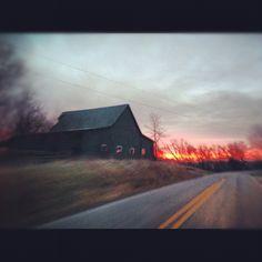 Highway 337, near Bromer, Indiana - Cadle