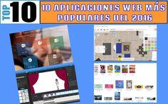 El ranking con las 10 aplicaciones web más populares del 2016 en Soft & Apps. Las más visitadas y compartidas por los usuarios del blog en este año.