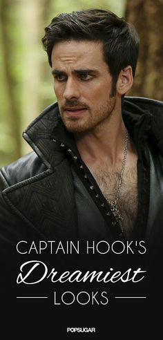 29 Reasons Why You Fell in Love With the Wickedly Sexy Captain Hook: On Once Upon a Time, the greatest love story is the one that's just burgeoning: the one between Emma and Hook.