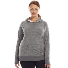 Plus Size Tek Gear® Surplice Yoga Hoodie