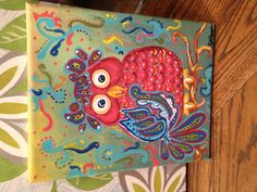So cute owl painting