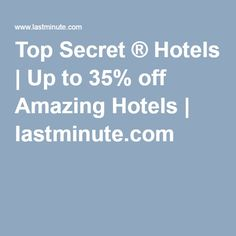 last minute secret hotels las vegas
