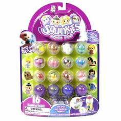 Squishy Toys With Stuff Inside : 1000+ images about Squinkies on Pinterest Baby pony, Toy trains and Bubbles