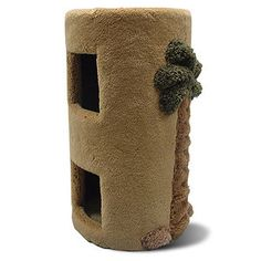 Cat Furniture Two Story Cat Condo with Palm Tree Cool Cat Trees, Cool Cats, Cat Has Fleas, Cat Tree Plans, Cat Condo, Scratching Post, Second Story, Buy A Cat, Cat Furniture