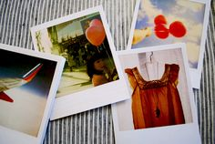 Polaroid notes by Jenifer Altman. Fun, all-purpose note cards for your loved ones!