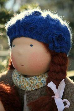 Petit Gosset Waldorf Doll 18 inch Colette by NobbyOrganics, $275.00 #waldorf doll