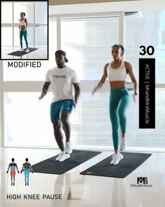 Fitness Workouts, Full Body Hiit Workout, Cardio Workout At Home, Gym Workout Videos, Gym Workout For Beginners, Fitness Workout For Women, At Home Workouts, Hiit Workouts Fat Burning, Beginners Cardio