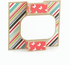 a2 pop out card: rounded