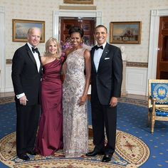 The best looking President, First Lady, Vice President and Second Lady on the planet!!