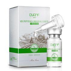 Argireline+aloe vera+collagen peptides rejuvenation anti wrinkle Serum for the face skin care Colageno anti-aging cream