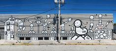 Wall MIAMI the london police