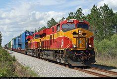 RailPictures.Net Photo: FEC 810 Florida East Coast Railroad (FEC) GE ES44C4 at Palm Coast, Florida by Bob Pickering (BP)