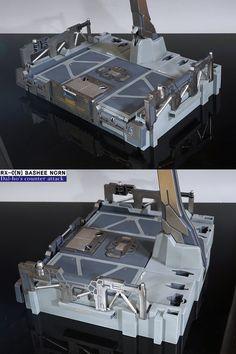 Sci Fi Environment, Environment Design, Perfect Grade, Gundam Wallpapers, Unicorn Gundam, Gundam Custom Build, Game Props, Batcave, Gundam Model