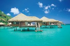 5 Dreamy (& Cheap!) Overwater Bungalows For Your Next Trip #refinery29  http://www.refinery29.com/overwater-bungalow-rentals#slide-3  Royal Huahine, Huahine So, you're set on the islands of Tahiti. But you're balking at the prices. Consider Huahine, which is as wildly romantic as Bora Bora (it was named Hermosa by Captain Cook), but is less known, less touristed, less talked about — and, consequently,...