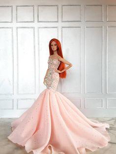 Amon design Vestido Roupa Vestido Fashion Royalty Barbie Silkstone Modelo Boneca Fr | Bonecas e ursinhos, Bonecas, Roupas e acessórios | eBay!