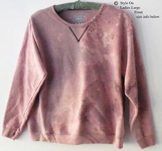 Women Sweatshirt - Women's sweatshirts, tie dye Sweatshirt, Pink sweatshirt, sweater, acid wash sweatshirt, dip dye sweatshirt, Gift for Her by Styleon on Etsy