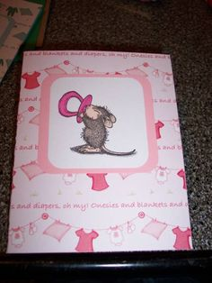 Baby Girl Congrats! by Amyteaches - Cards and Paper Crafts at Splitcoaststampers y