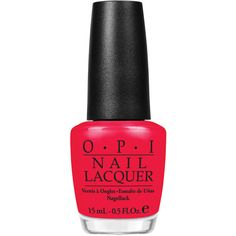 O.P.I Nail Polish in Red Lights Ahead Where 15ml (£13) ❤ liked on Polyvore featuring beauty products, nail care, nail polish, nails, vernis, opi, opi nail care, opi nail color, opi nail polish and opi nail varnish