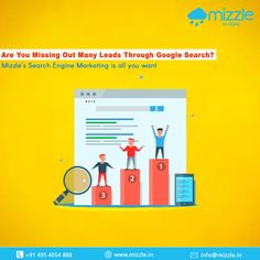 #Mizzle stands with you for the better performance of your business with search engine marketing.It's a digital marketing strategy used to increase the visibility of a website in search engine results pages. This strategy reaches consumers at exactly the right time when they are open to new information.  Results are immediate with SEM. It is arguably the fastest way to drive traffic to a website.  #searchenginemarketing #sem #googleads #searchengineranking #ppc #ppcmarketing… Digital Marketing Strategy, Email Marketing, Internet Marketing, Mobile Application Development, Design Development, Search Engine Marketing, Best Web Design, Google Ads, Web Design Company