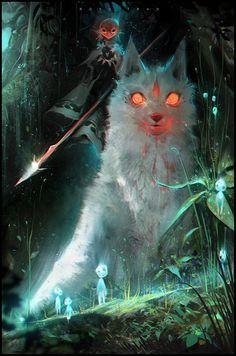 Princess Mononoke https://www.artstation.com/artist/rossdraws