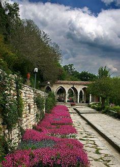 Balchik, the garden Wild Nature, Malta, Landscape Architecture, Romania, Railroad Tracks, Places Ive Been, Barcelona, Sidewalk, World