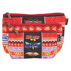ee732776c4c Colorful Dragonflies 3 in 1 Cosmetic Bag Set bag Sun'N'Sand - Laurel