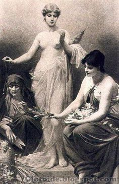 En la mitología griega, Cloto (en griego Κλωτηω Klōthō, de klōthein, «hilar») es la más joven de las tres Moiras, hijas de Zeus y Temis que presidían el destino del hombre y a la vez una de las diosas griegas más antiguas. Su posición era la primera de los Tres Destinos, pues era Cloto quien hilaba las hebras de la vida con su rueca.  También se creía que era la hija de Nix (la Noche), para indicar la oscuridad del destino humano. Su equivalente en la mitología romana era Nona.