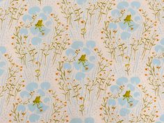 Kinderstoffe - Windham Fabrics :: Froschteich hellblau - ein Designerstück von stoffbuero bei DaWanda