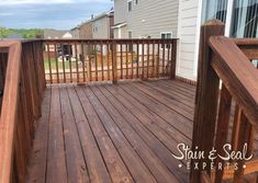 Metal Frame Fence Kits (Outlasts Wood) - FenceTrac by Perimtec Deck Stain And Sealer, Fence Stain, Wood Deck Stain, Wood Deck Railing, Hardwood Decking, Deck Stain Colors, Deck Colors, Redwood Fence, Painting Galvanized Steel