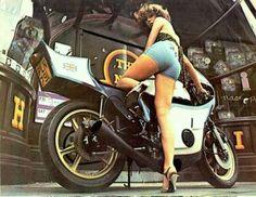 Vintage Motorcycle Girls 068