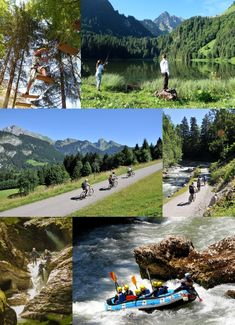 Village d'Abondance en été, rime avec un tas d'activités en famille !  Pêche, vélo et VTT, Canyoning et Rafting, Parcours d'Accrobranche... - Portes du Soleil - Pays d'Evian Vallée d'Abondance - Haute Savoie
